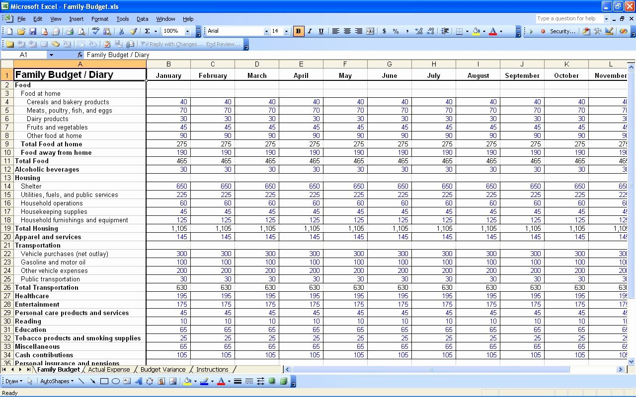 Business Budget Template Excel Inspirational Excel