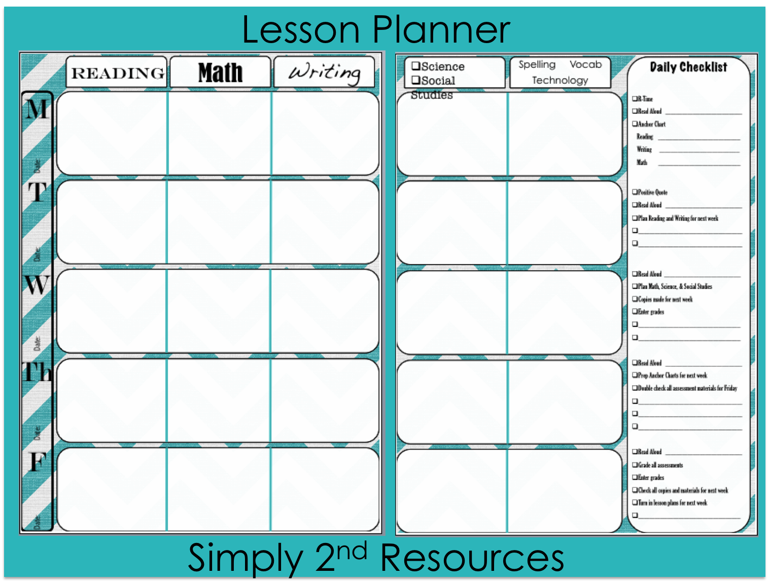 Marvelous Simply 2nd Resources: Free Lesson Plan Template On Free Lesson Plan Format