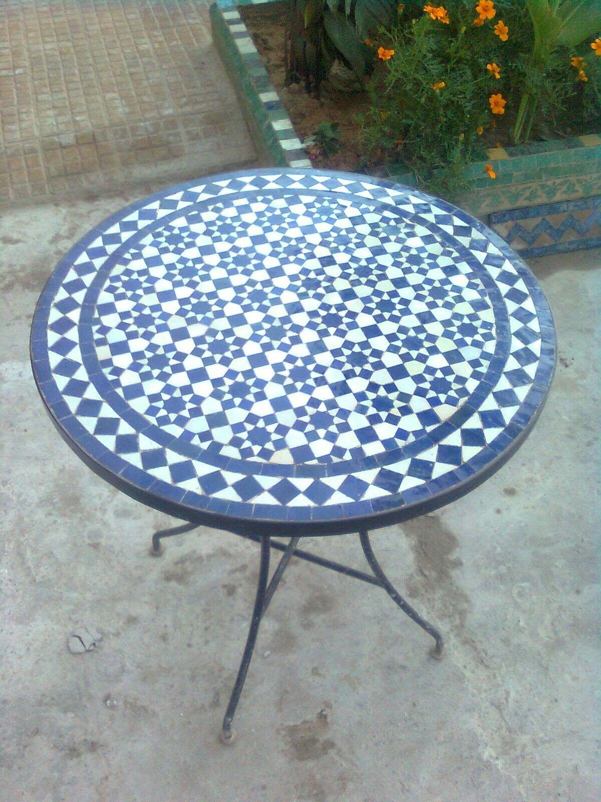 Pin Van Tegeltje Op Zellige Tables Outdoor Decor Outdoor Tables
