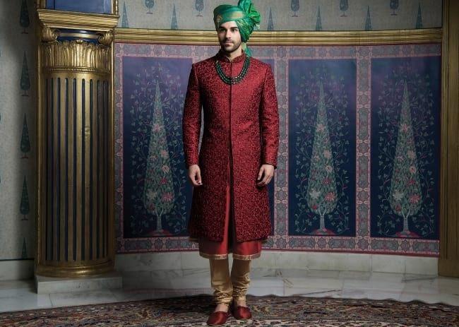 Latest Designer Wedding Sherwani Patterns for Indian Groom