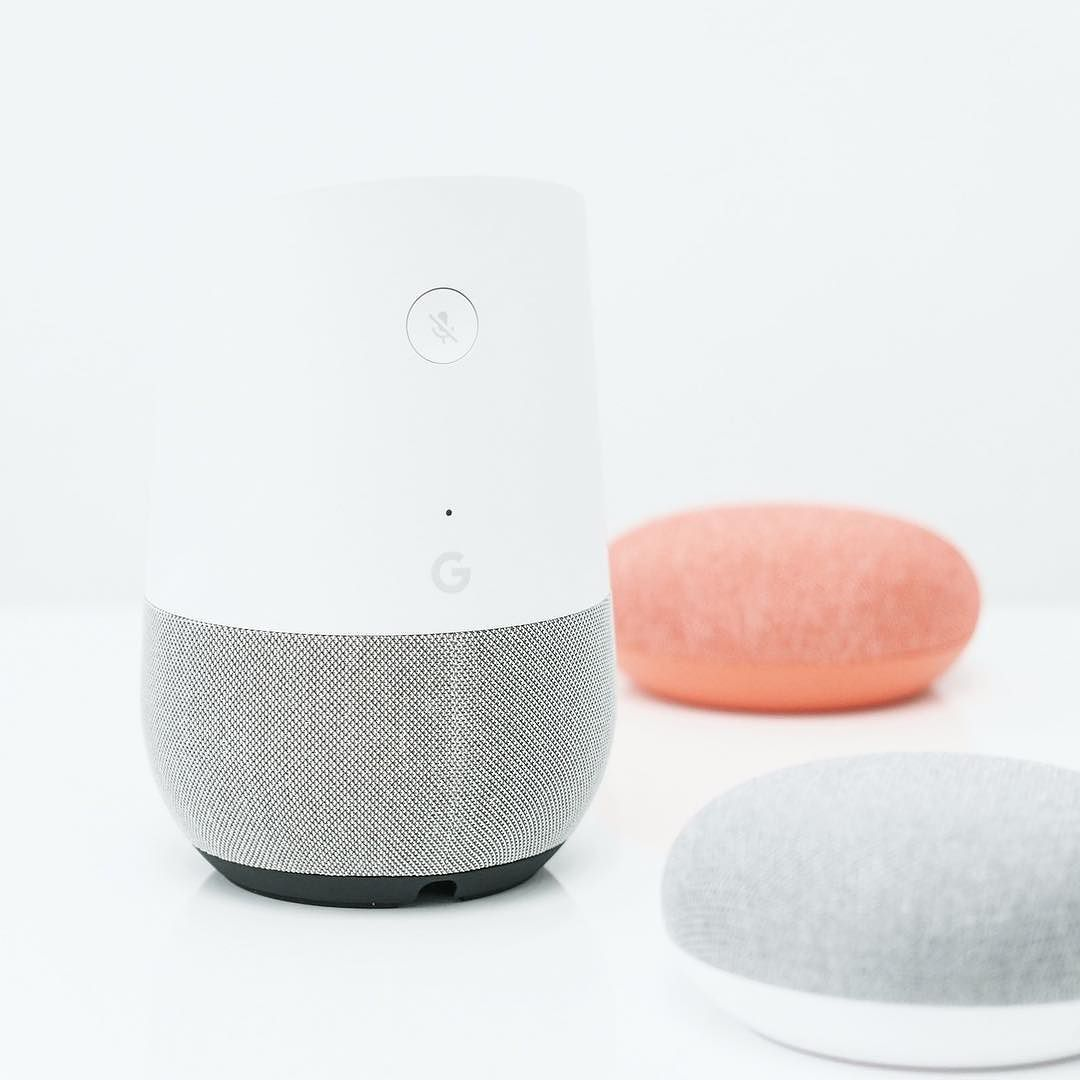 Google Home and Google Home Mini See more at transfer.design ...