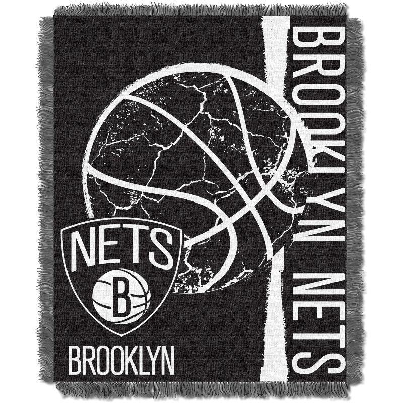 Northwest Brooklyn Nets Double Play Blanket Brooklyn