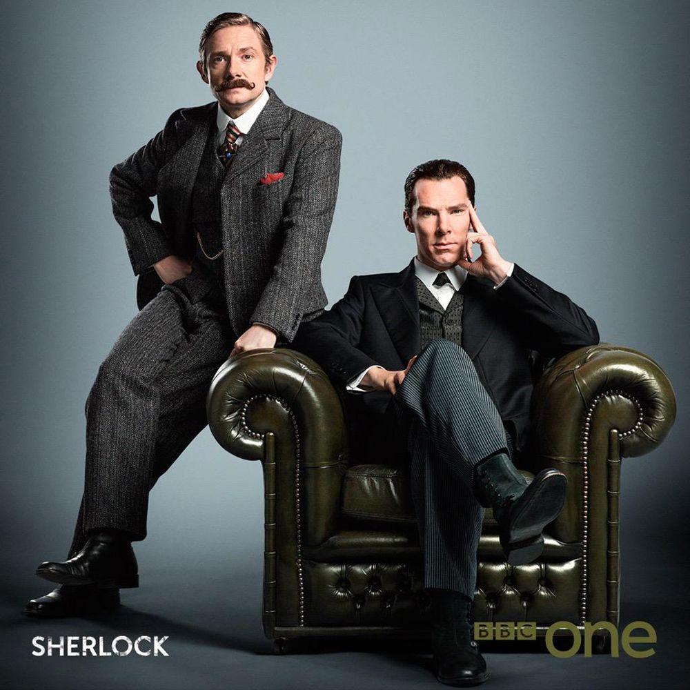 Photo et premier extrait du 'Sherlock Special'.