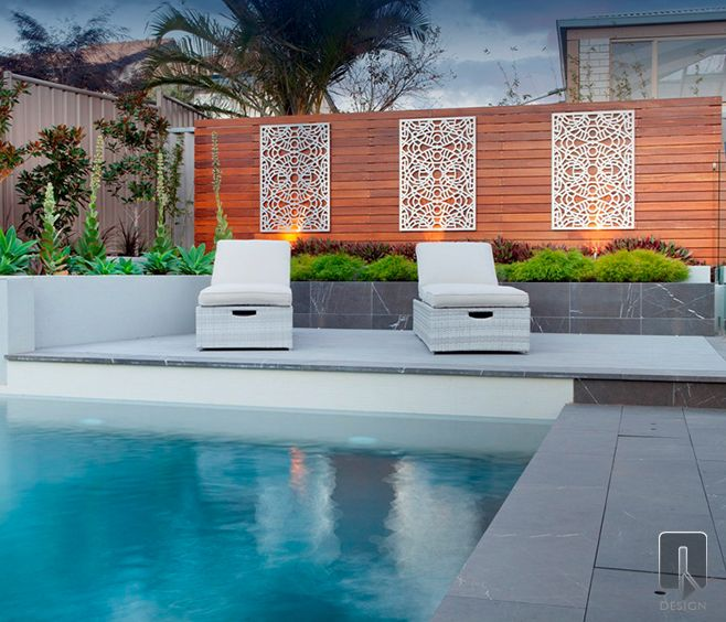The Lucario Outdoor Screen Design Is Inspired From The Designers Travels To Morocco This Attent Outdoor Wall Art Outdoor Screens Contemporary Outdoor Wall Art