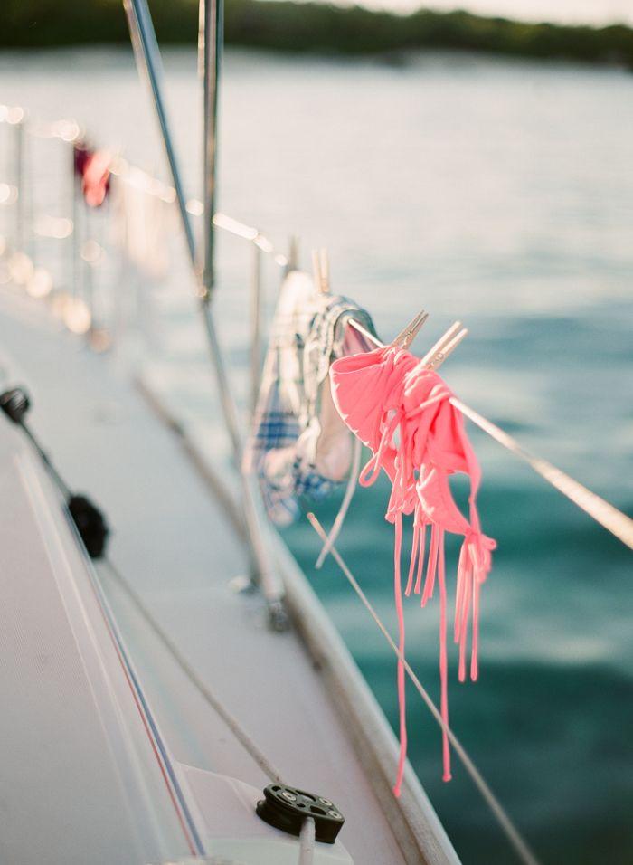 Päästä purjehtimaan lämpimään.