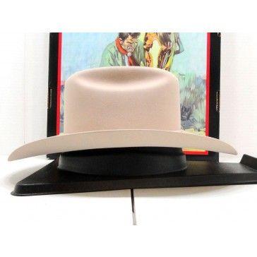 Stetson Cowboy Hat 6X Beaver Fur Felt Silverbelly Carson  160685ae0fc