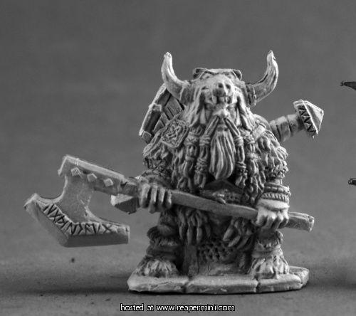 Dark Heaven Legends Reaper 02598 Tiki Wood Golem