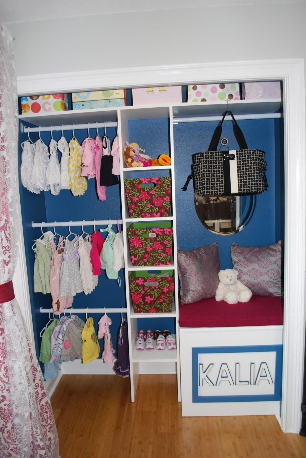 Closet Ideas For Kids. Kids Closet. Never Thought To Add Three Rods. Could