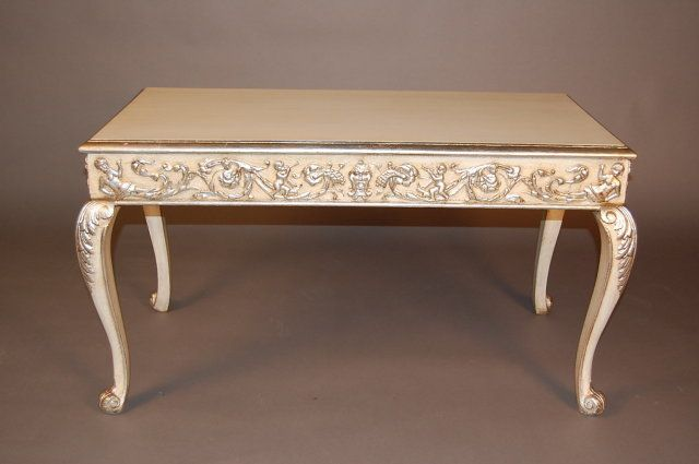 French Painted Coffee Table For Antiques Clifieds