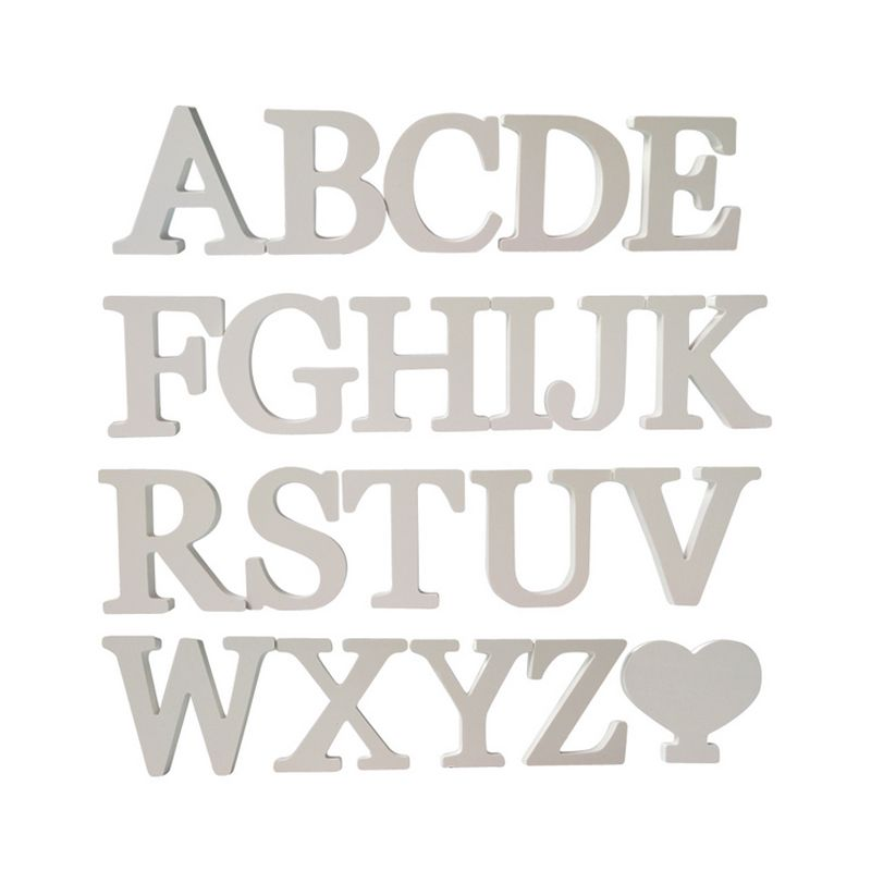 hot diy wall stickers 3d sticker wedding gift fashion decoration - gift letters