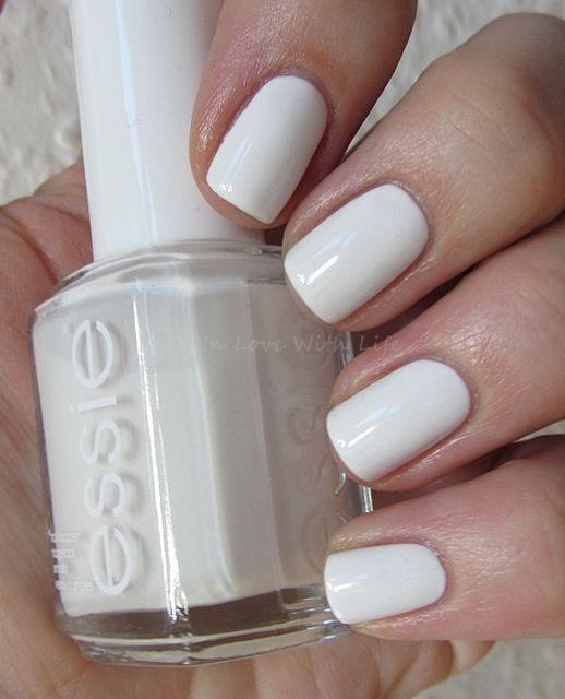 Essie Blanc : essie, blanc, Essie, Blanc, #nails, Polish,, Nails,
