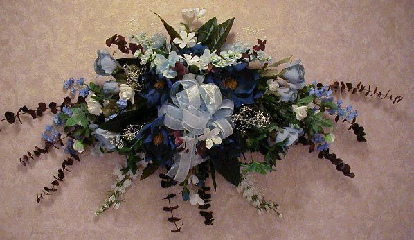 Artificial Flower Arrangements In Baskets Silk Flowers