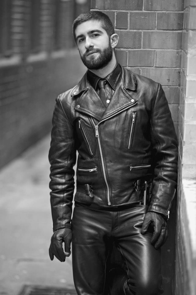 fecddb92ff7e4 Spice it up with #Sexy #Black #Leather …   Old Biker Leathers   Leath…