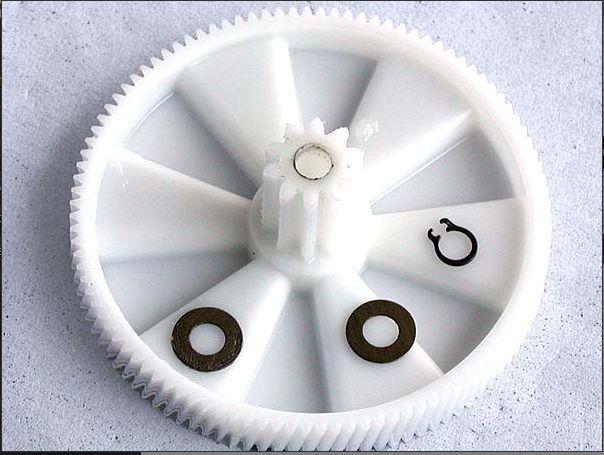 Intermediate Gear & Circlip Kw650740, For Kenwood Mg Series Meat Grinders
