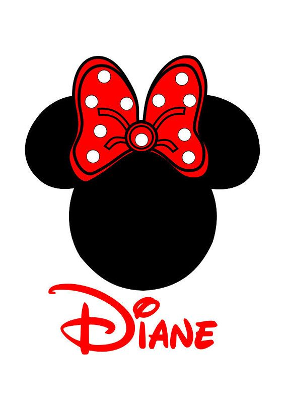 856b5c80a9bc3 Minnie Personalized Custom Iron on Transfer Decal(iron on transfer ...