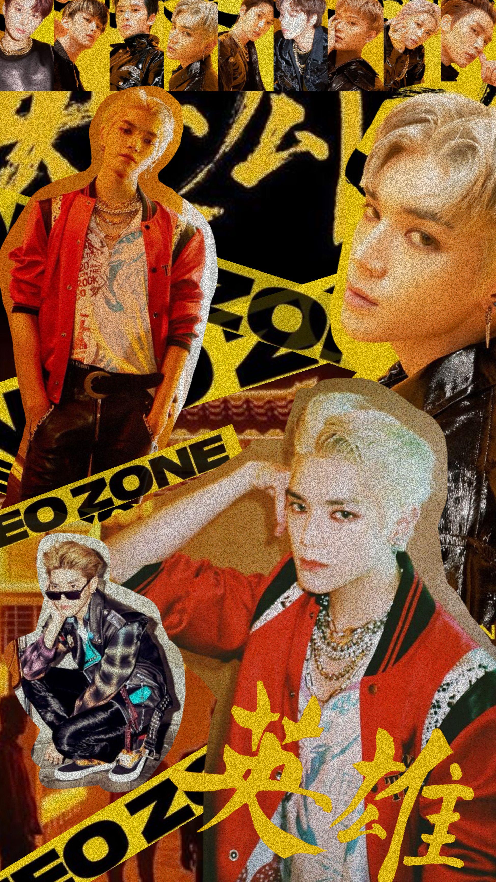 kick it wallpaper; taeyong version en 2020