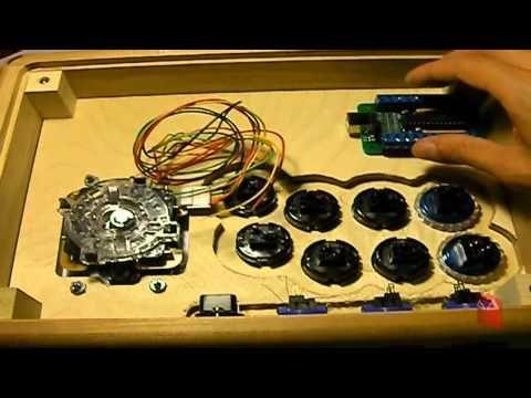 Youtube Diy Arcade Cabinet Arcade Stick Arcade Cabinet