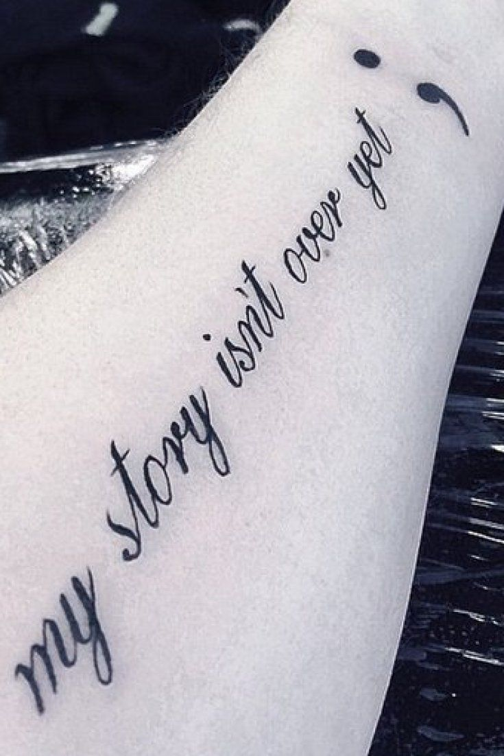Tatuajes Dedicados A Abuelos why semicolon tattoos are so much more than a passing trend | tatoos