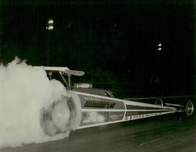 The American Way Top Fuel Dragster