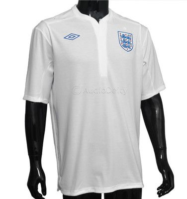 official photos a4a2e 3c0c7 Umbro England National Team Soccer Jersey White, Mens L & XL ...