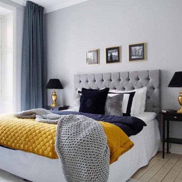40 Luxury Bedrooms You Ll Definitely Wish You Could Nap In Blue Bedroom Colors Bedroom Decor Inspiration Beautiful Bedroom Colors