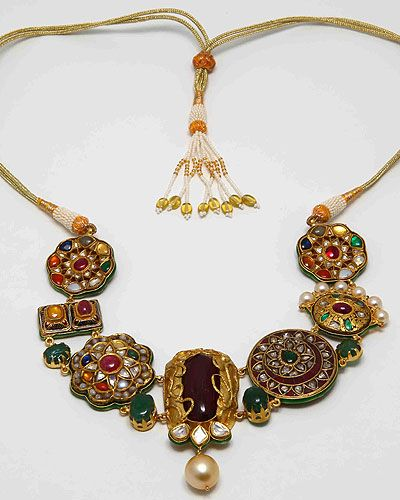 Indian Gold Jewellery Necklace Sets Google Search: Falguni Mehta Jewelry - Google Search
