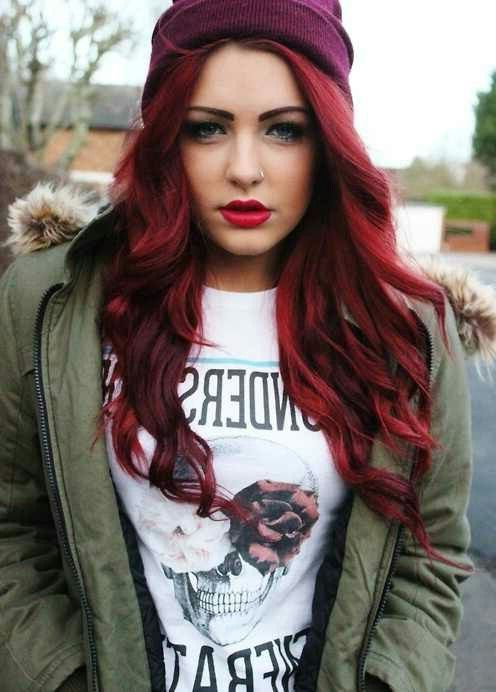 Stylish Hair Color For Women to Look Gorgeous | Hair coloring, Red ...