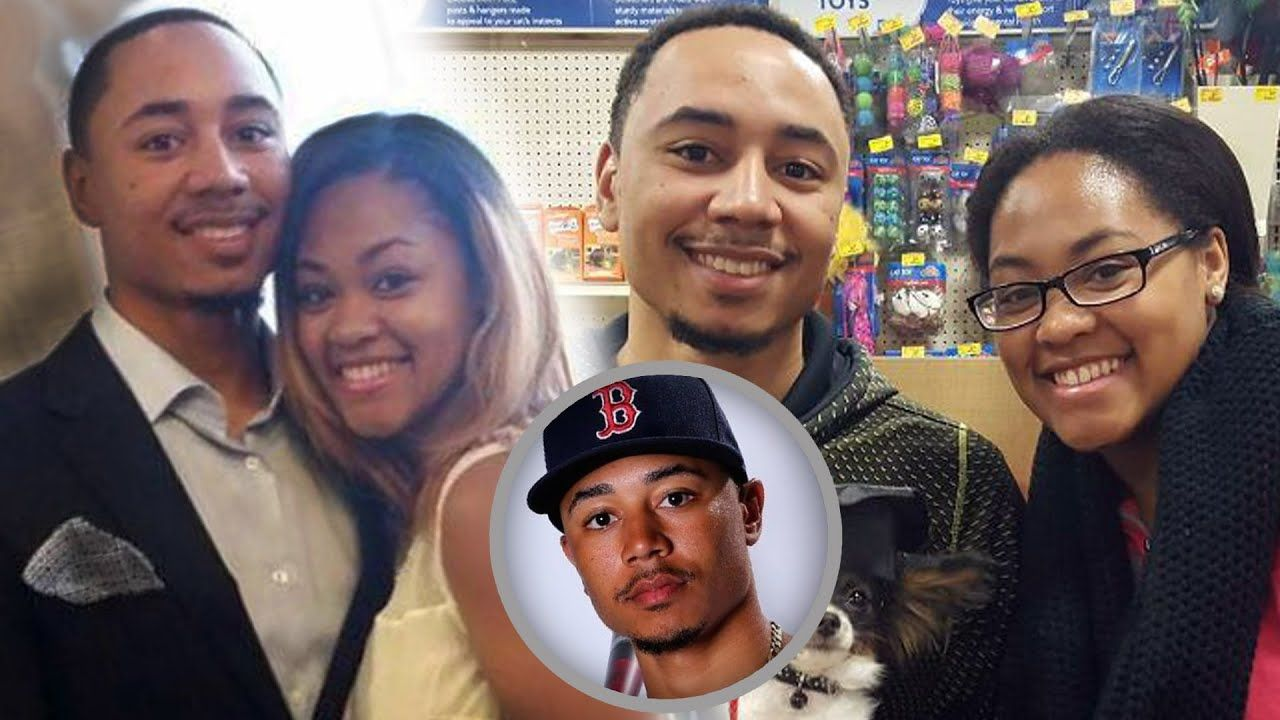 Mookie Betts Family Photos With Daughter And Wife Brianna Hammonds 2020 In 2020 Sports Gallery Famous Sports Family Photos