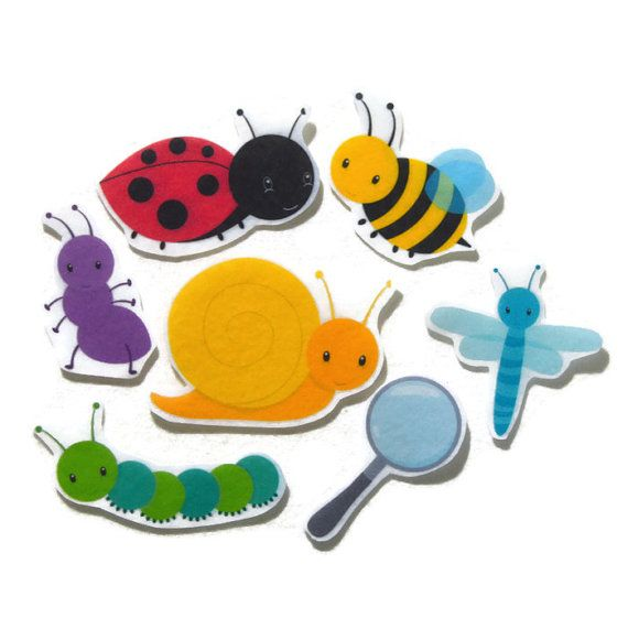Felt board, Felt Bugs, Felt Insects, homeschool, felt board pieces, flannel board, felt board story, quiet book, busy book, feltboard story