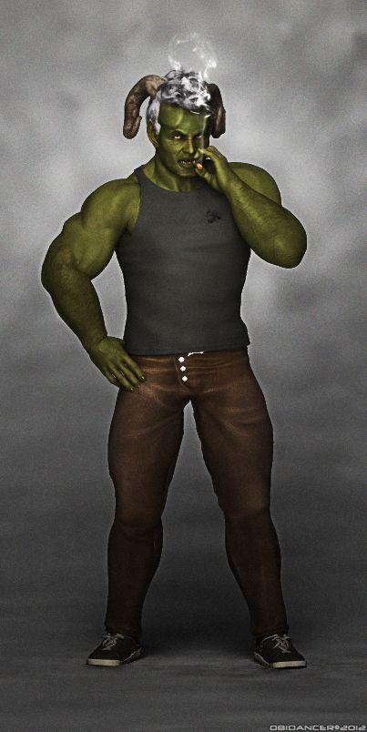 Shadowrun Character: Troll by obidancer   Shadowrun Troll ... Scary Guy Meme