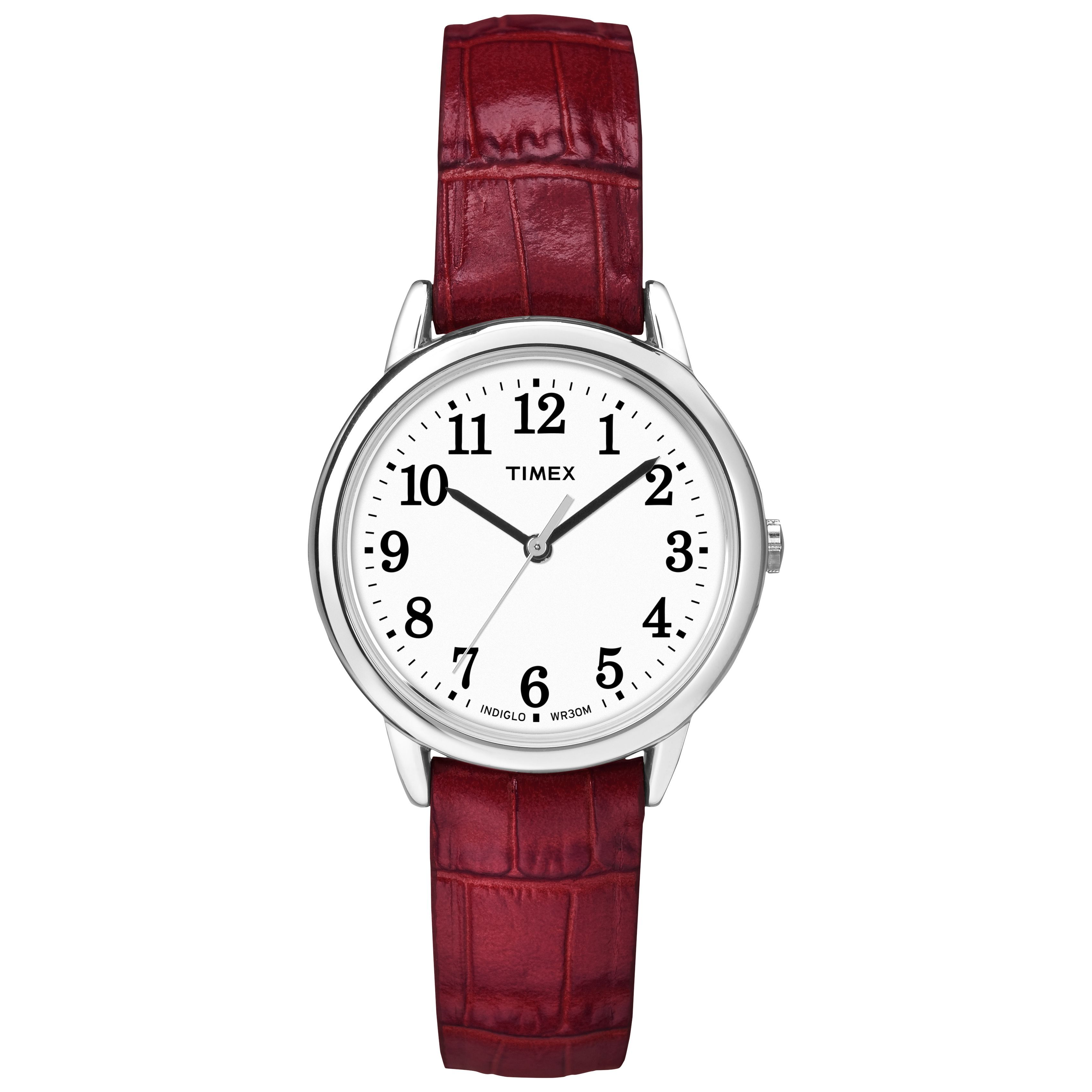 s red watches quartz burgi jewelry overstock watch strap free today product womens leather sparkling with women shipping