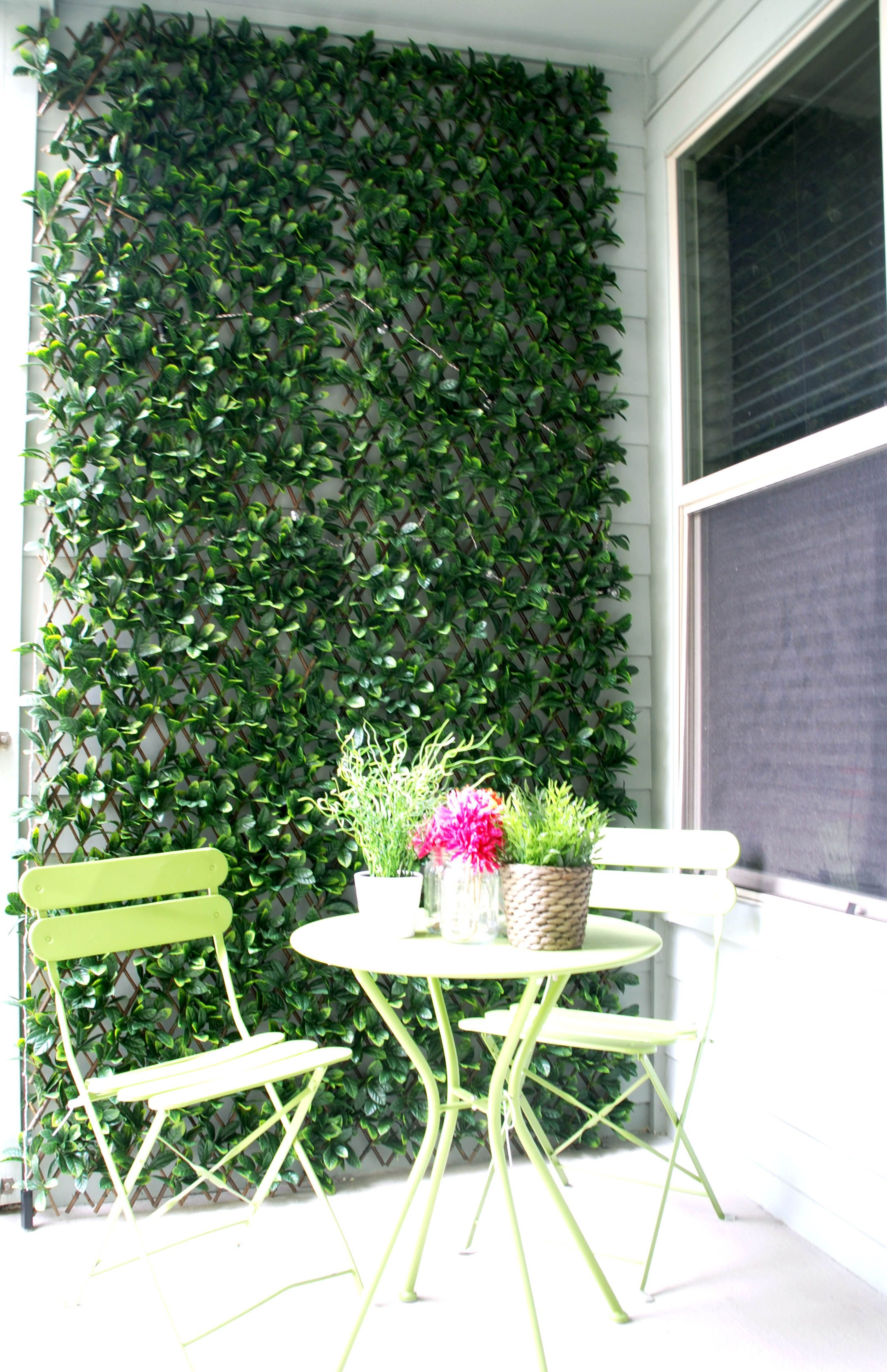 Expandable Ivy Lattice by Green Smart Decor - Set of 4 | Balconies ...
