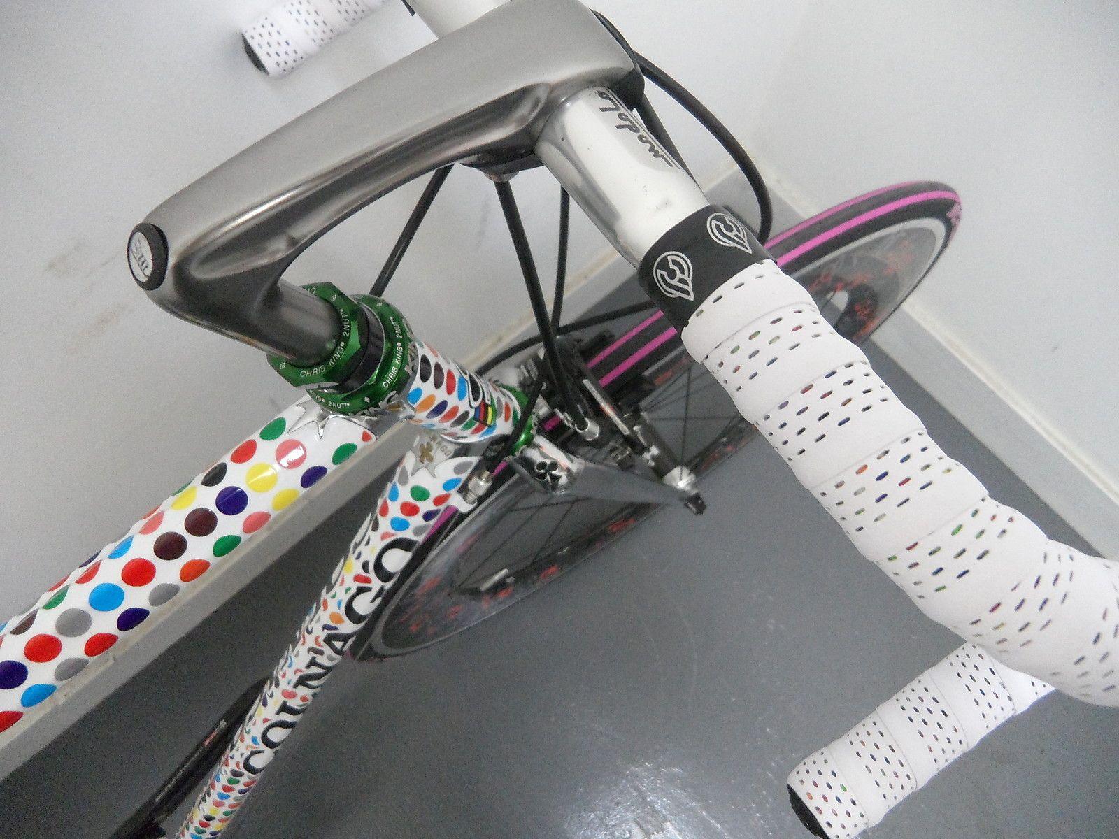 Custom colnago futura steel lugged bike