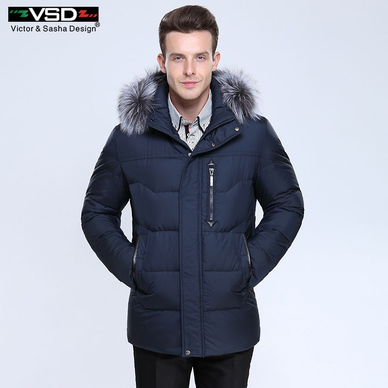 8dbee3d35 Victor&Sasha Design Thick Warm Winter Leisure Cotton-Padded Down ...