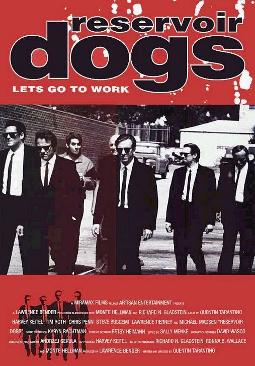 Recommendation of the Day: Reservoir Dogs