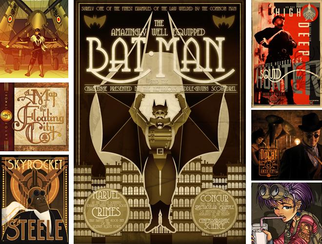 """Diviant Art"" a #Steampunk Comic by: Paul Sizer #Xerposa."