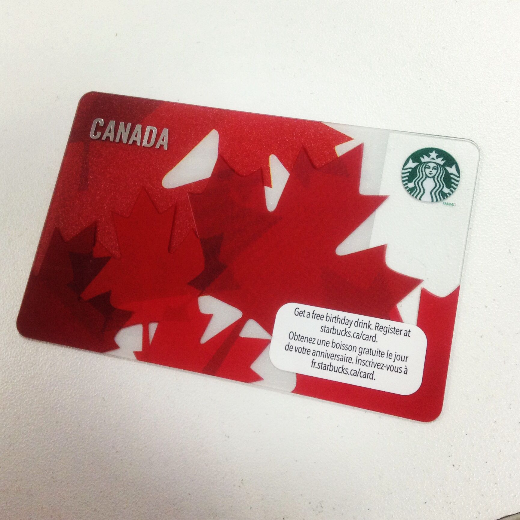 how to check starbucks gift card balance canada