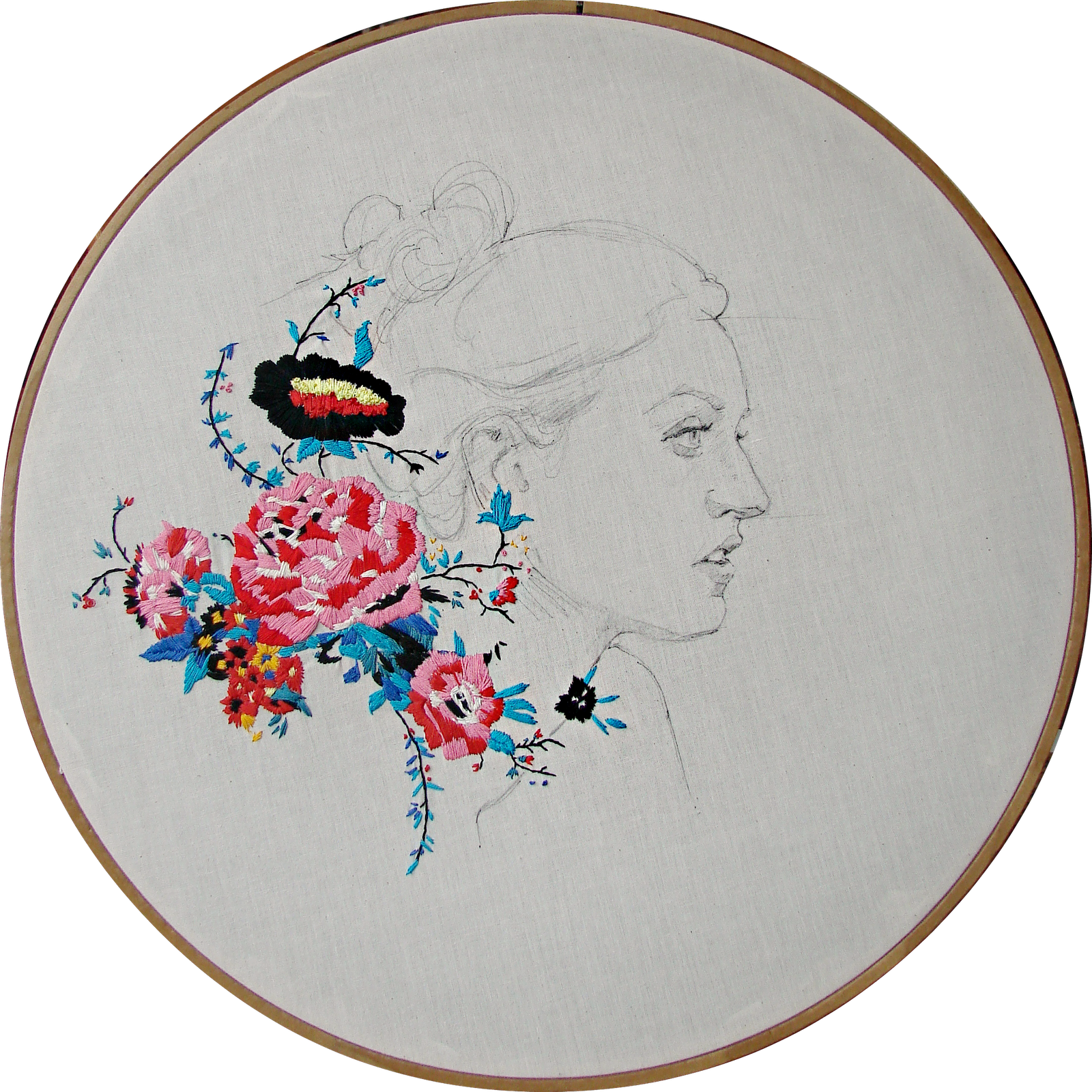 stephanie k. clark I know this is hand embroidery, but I pinned it ...