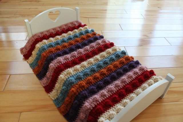 Free Crochet Popcorn Afghan Pattern Wow Image Results