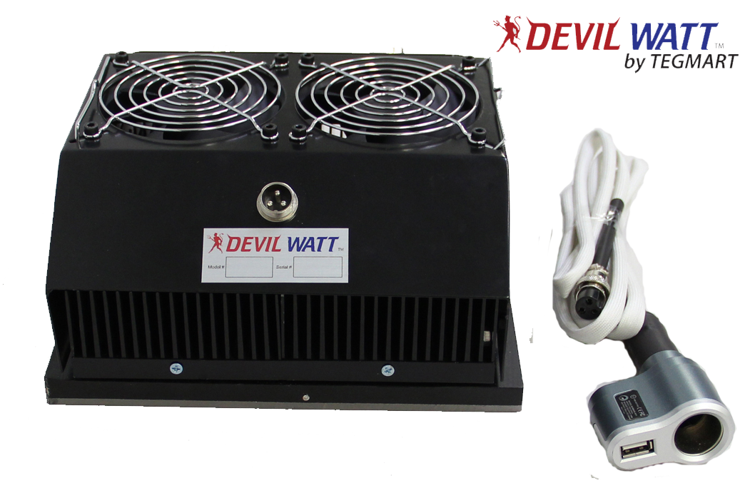 30 Watt Teg Generator For Wood Stoves With Air Cooling