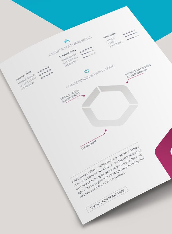 Pin By Jb On About Art And Design    Cv Template