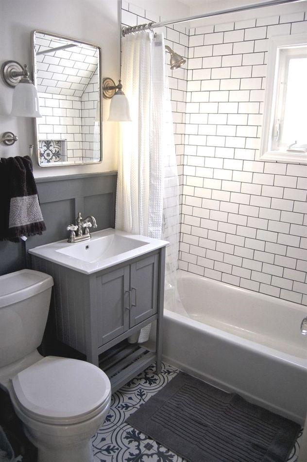 10 Top Tips Bathroom Remodel Green Ceilings Average Bathroom Remodel Cost Bathroom Remodel B Gray And White Bathroom Small Bathroom Inspiration Small Bathroom