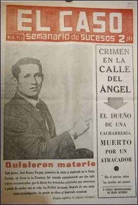 El Caso Crònica Social En Negre Historia De España Nostalgia Revistas