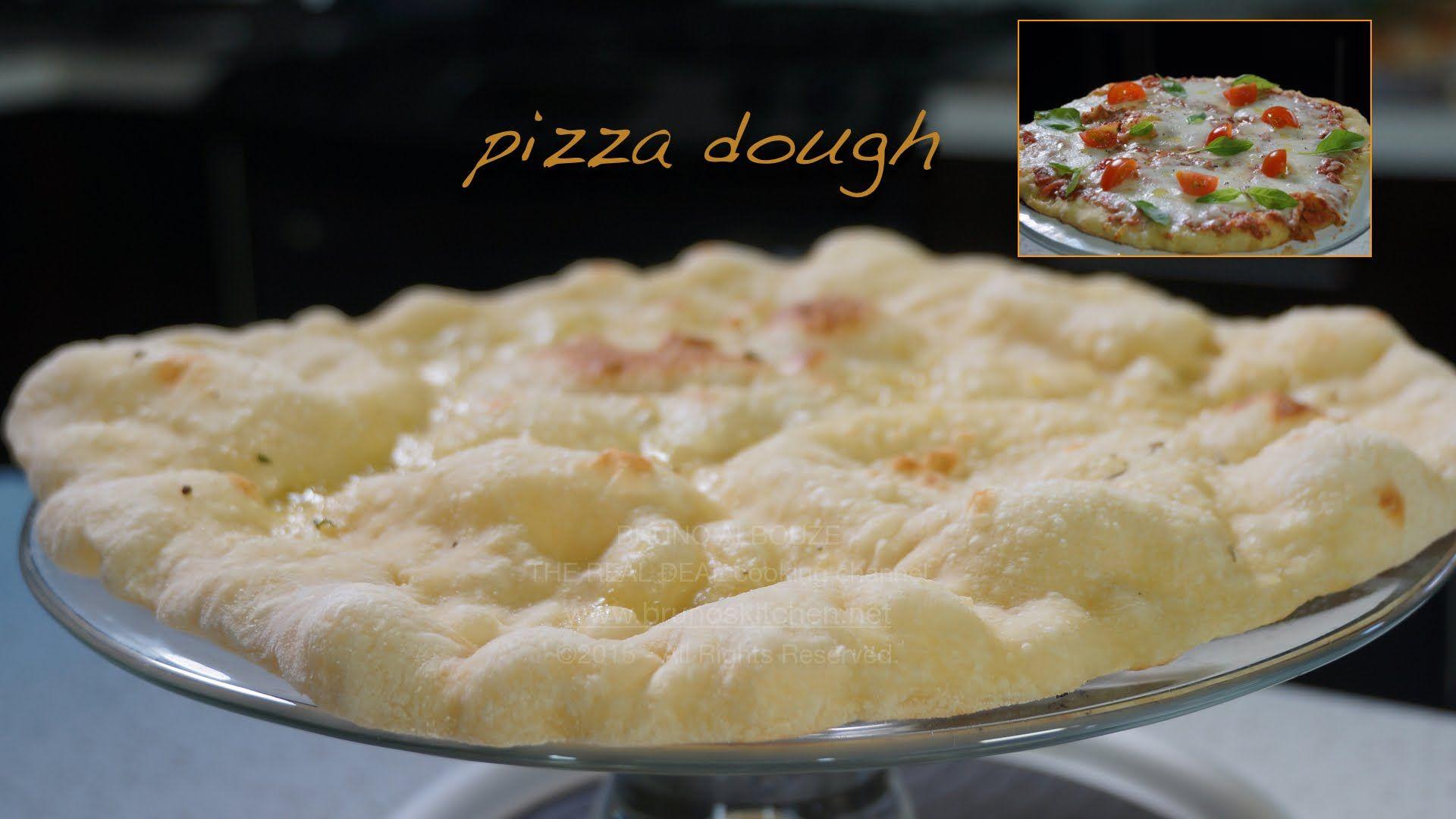 Frozen Homemade Pizza Dough Wins Bruno Albouze THE REAL DEAL