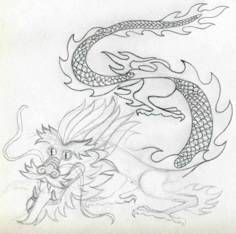 how to draw tattoo style waves with pencil
