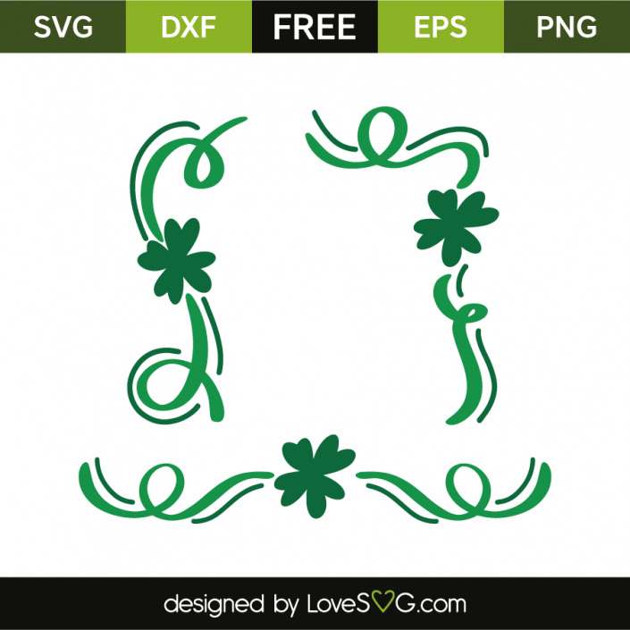 Download Saint-Patrick's decorative elements | Free stencils, St ...