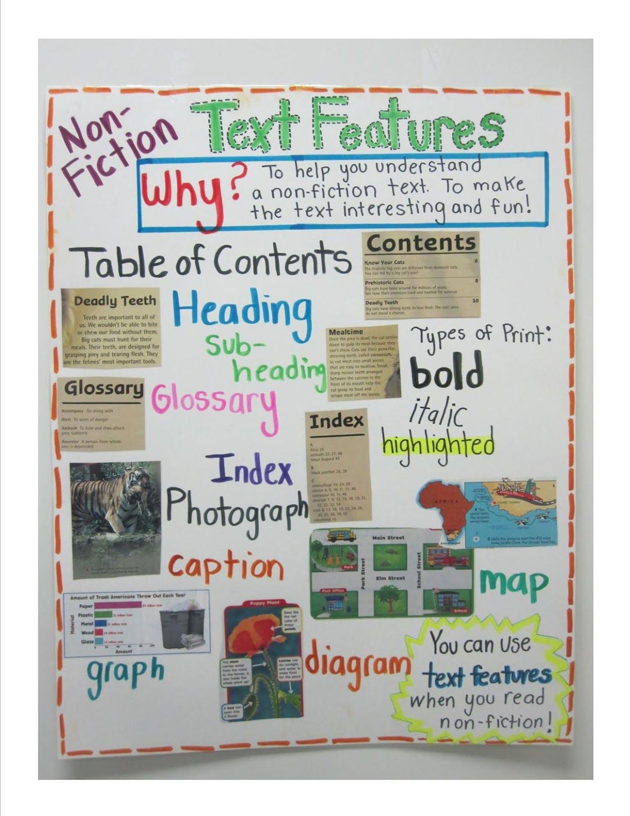 Learning About Non Fiction Text Features