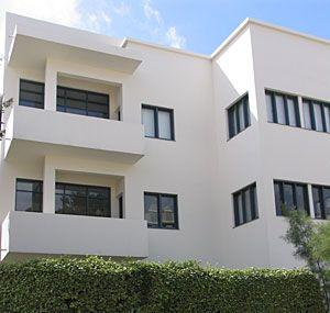 Bauhaus Museum in Tel Aviv Bauhaus architecture, House
