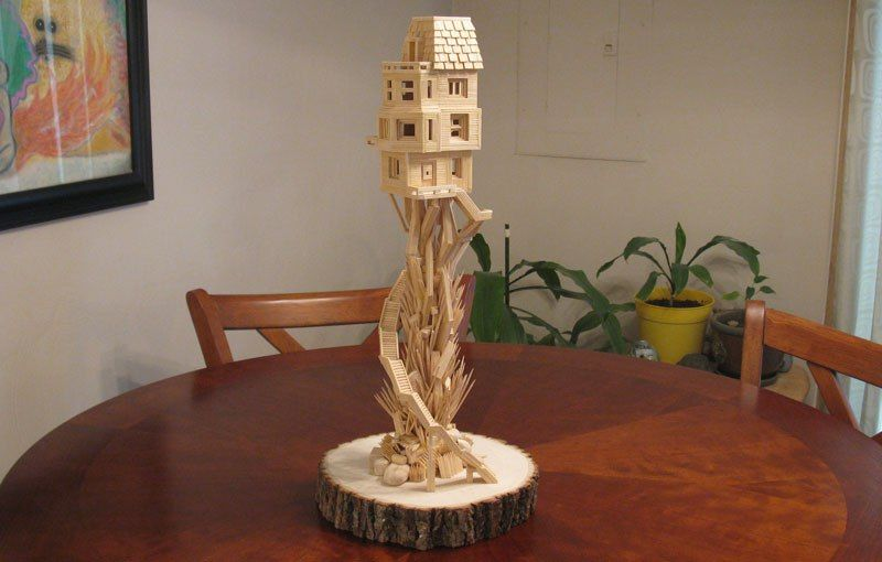 Toothpick Sculpture toothpick sculpturesbob morehead (3) | bob's toothpick city