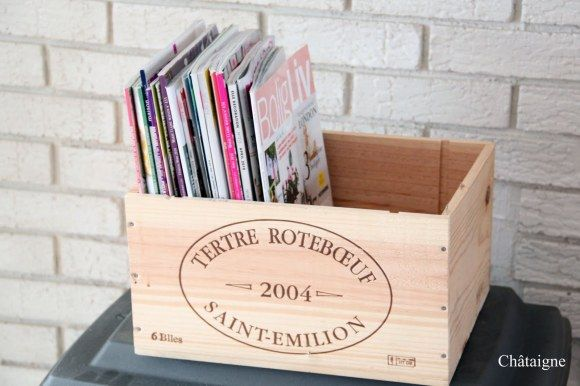 Tetre Roteboeuf 6 Bottle Magazine Holder. Really great wine by the way..